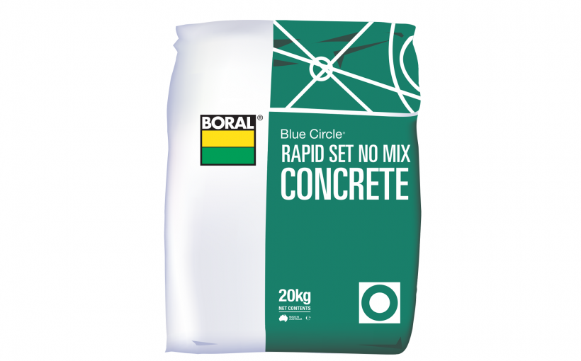 Rapid Set No Mix Concrete